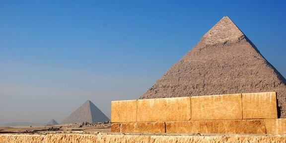 Egyptian pyramids were grain stores, not tombs.